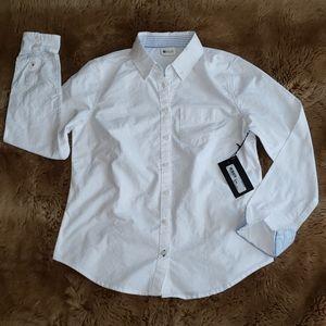 White Oxford Button Down Shirt